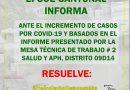 CONOZCA LAS NUEVAS RESOLUCIONES DEL COE CANTONAL
